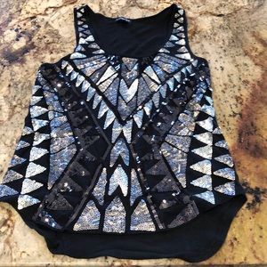 Sparkly Sequin Tank- Never Worn